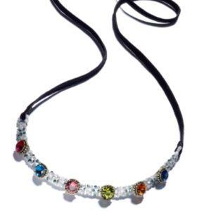 Anna Sui x INC Beaded & Crystal Choker Necklace